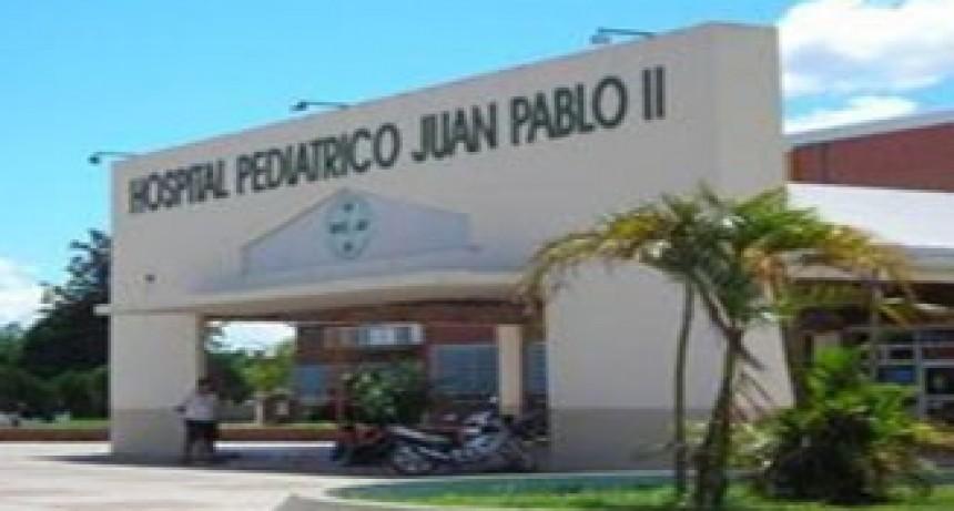 Beba abandonada en Hospital Pediátrico de Corrientes