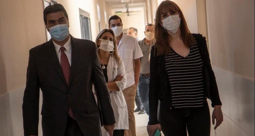"""Capitanich inauguró en la Leonesa la primera etapa de refuncionalización del Hospital """"Dr. Alejandro Fleming"""""""