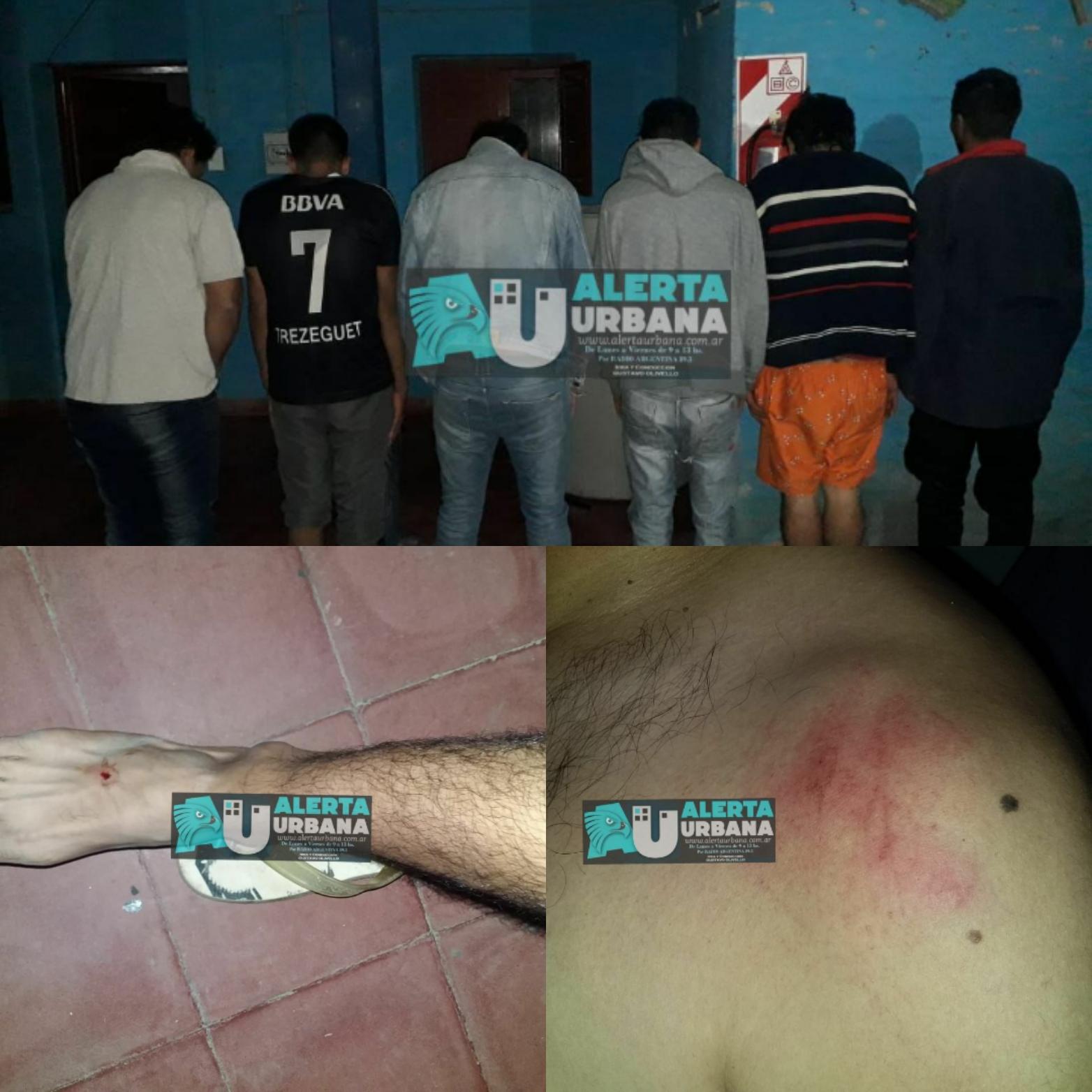 Capitan Solari: Desorden deja un saldo de cuatro policías lesionados