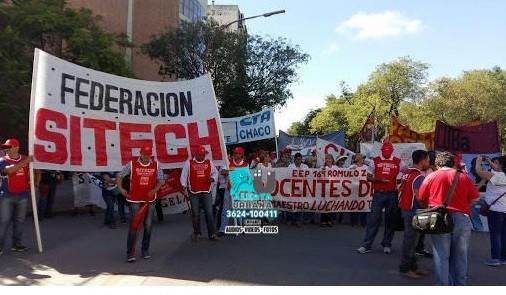 Federación Sitech: el sindicato docente vuelve al paro por cinco días