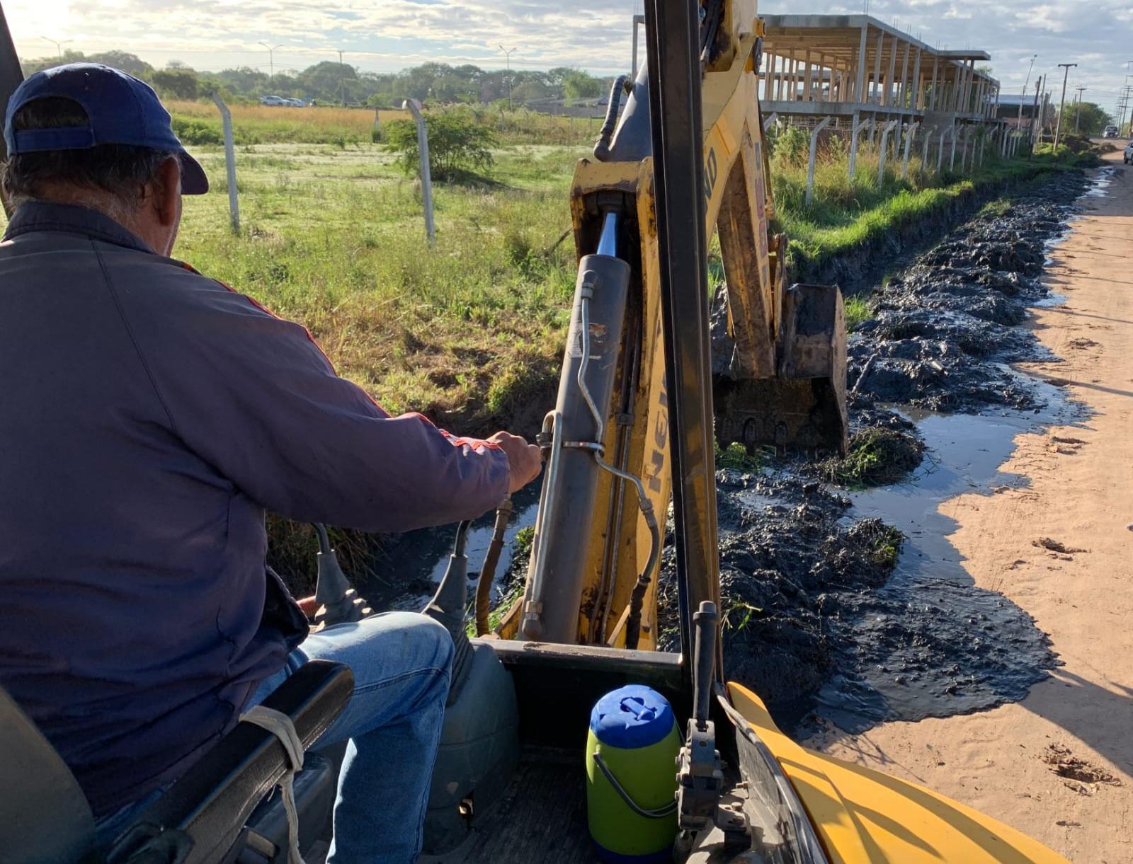 Refuncionalización del sistema de desagües de Villa Río Negro