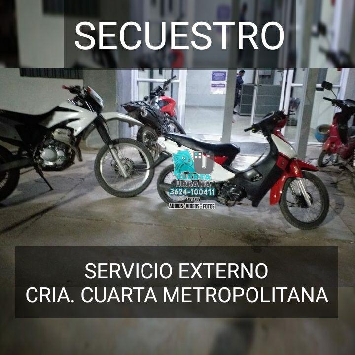 Recuperan motocicleta robada a una mujer