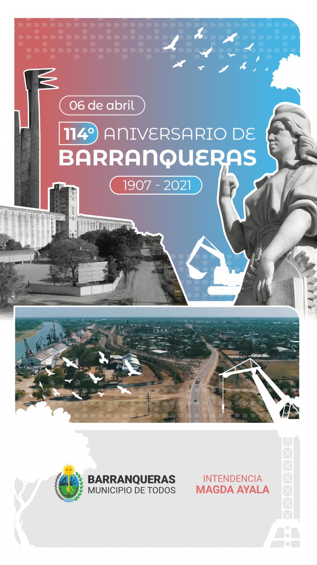 Barranqueras cumple 114 años de historia