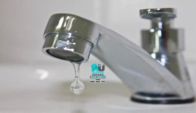 Sameep: habrá baja presión de agua