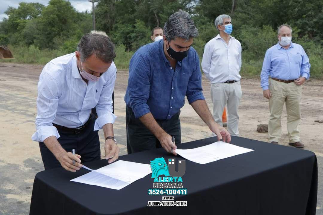 Chaco: pavimentación de Ruta provincial 7