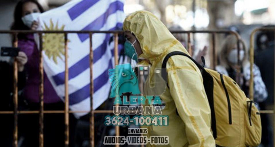 Uruguay se convirtió en el país con más contagios en el  mundo
