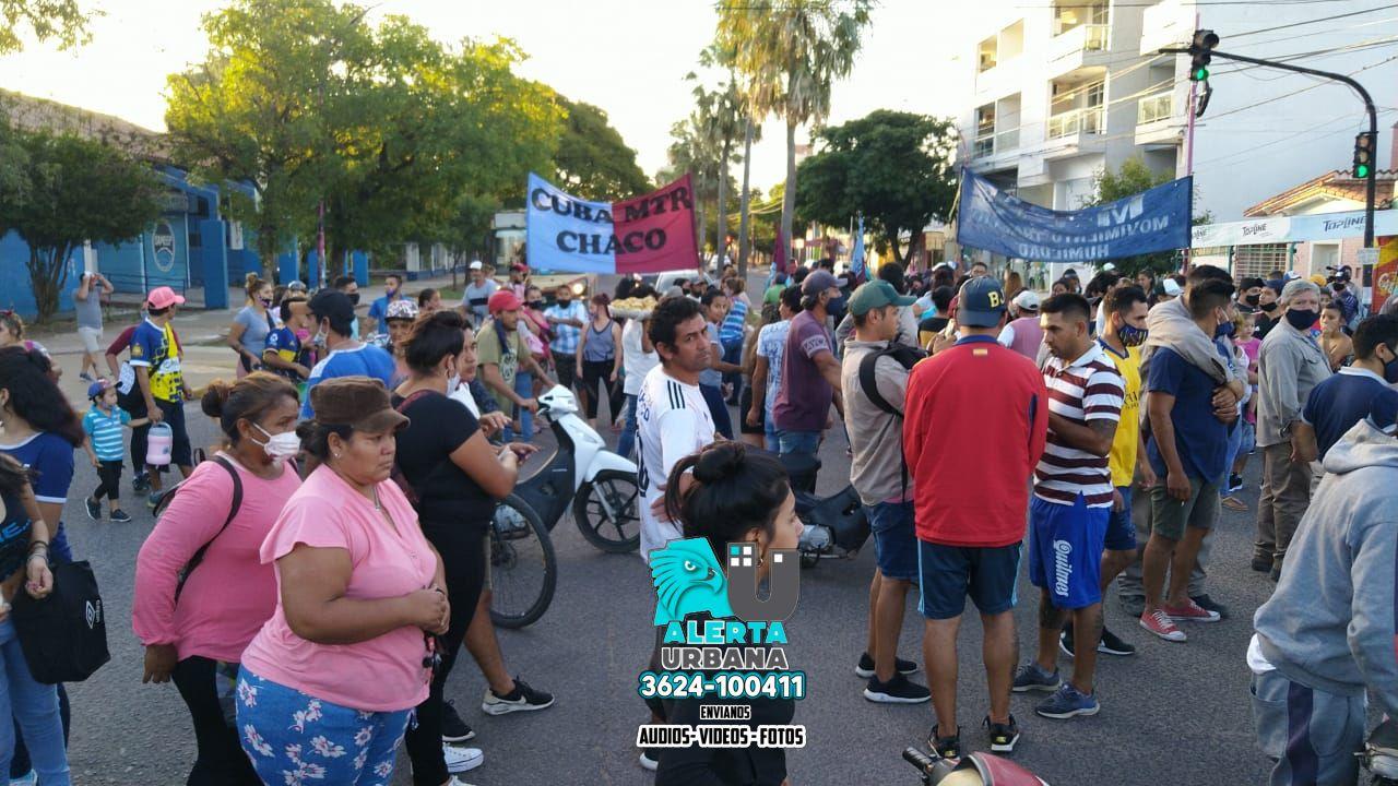 Resistencia: movilización por el despido de Barraza