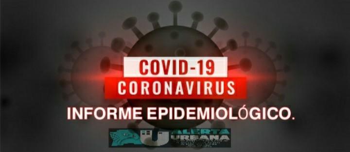 COVID-19:  nuevo reporte epidemiológico