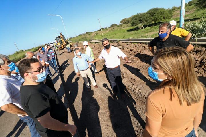 Histórico: avanzan las obras viales en el Puerto de Barranqueras
