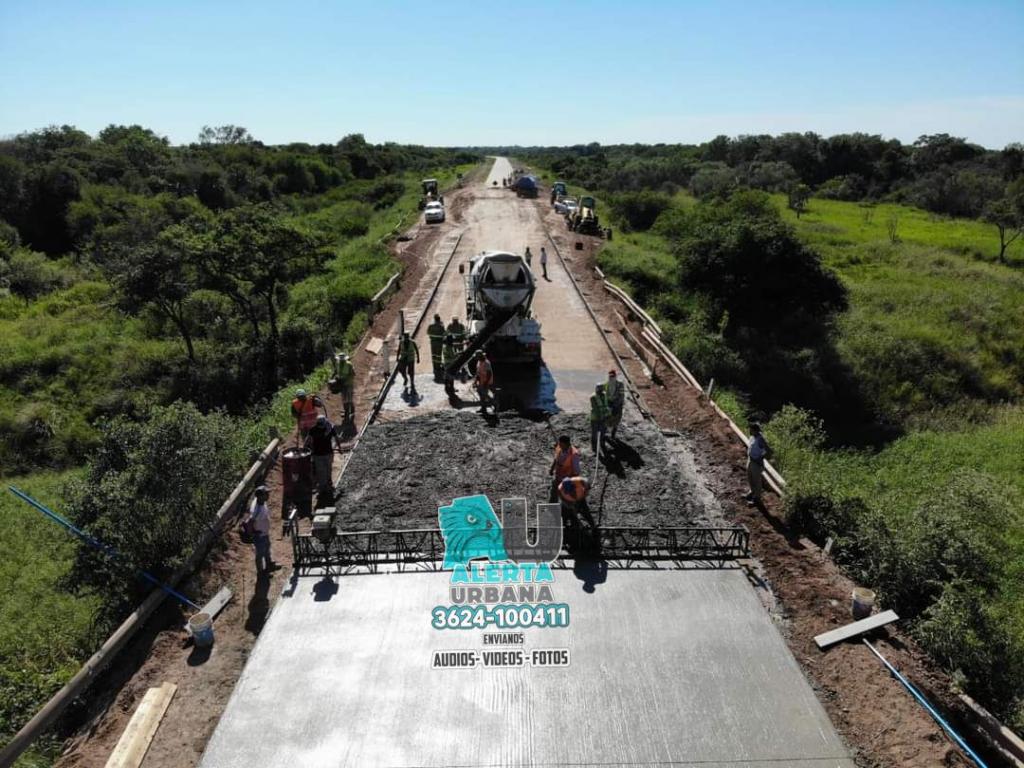 Vialidad Provincial: obra de pavimentación