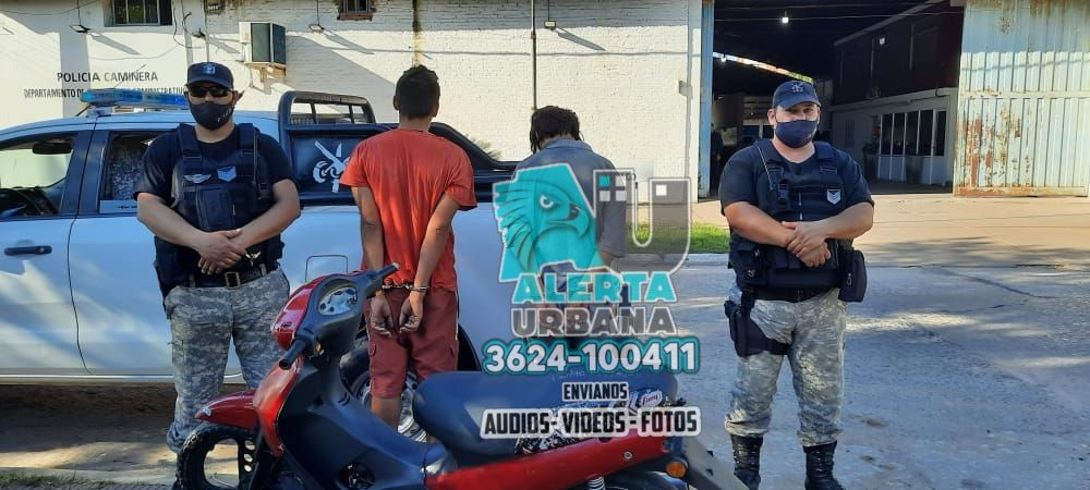 Recuperan moto robada cuando era llevada a la rastra