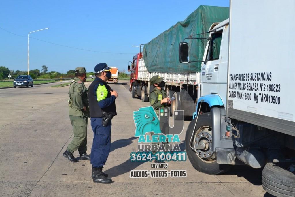 Operativos interfuerzas para fortalecer la seguridad vial