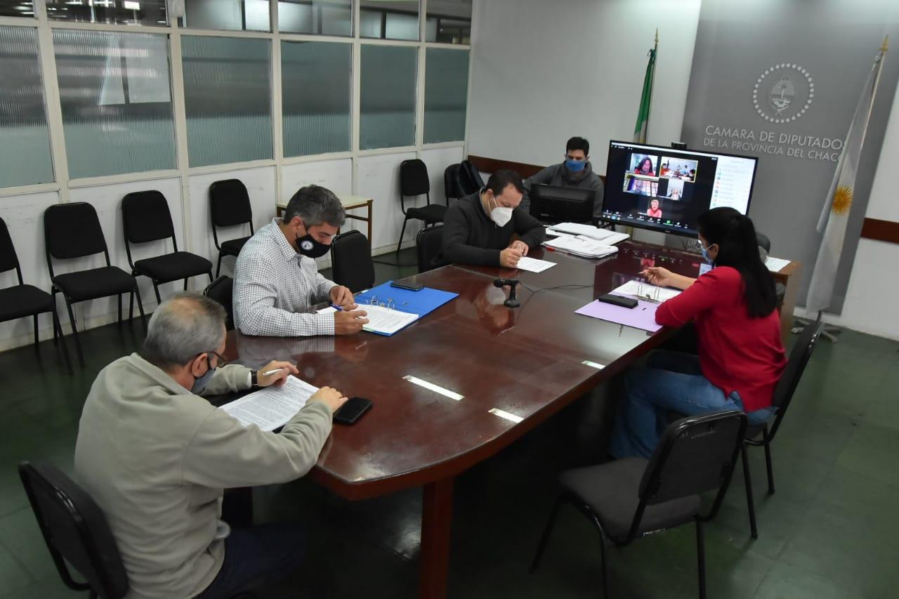 Se reunió la Comisión de Hacienda