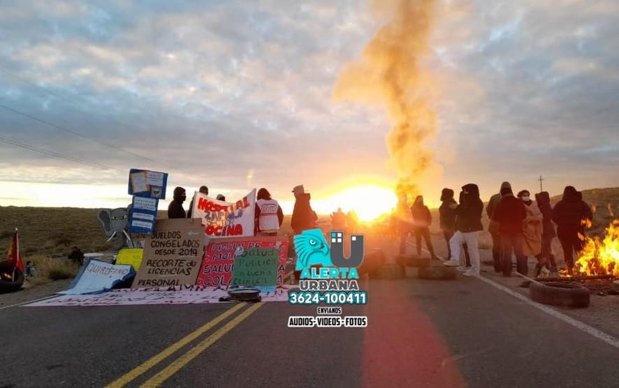 40 días de corte de ruta: peligra la producción de gas y petróleo en Neuquén