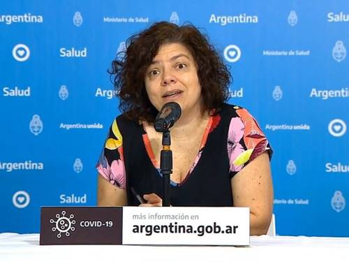 """La vacuna que aplica la Argentina es la de Sinopharm"", expresó la ministra Vizzotti"