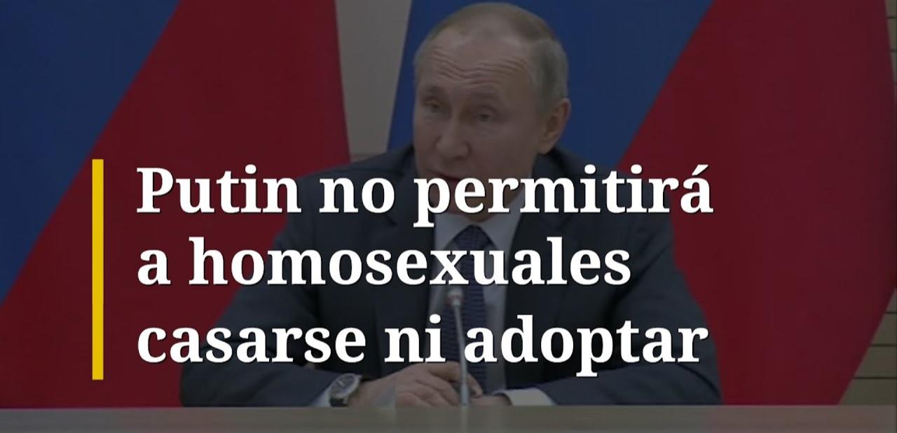Rusia: dijo NO al matrimonio igualitario