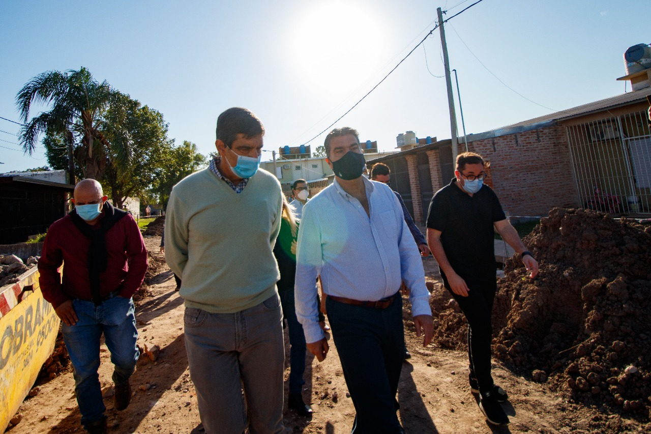 Fontana: el gobernador inauguró la ampliación de un centro comunitario