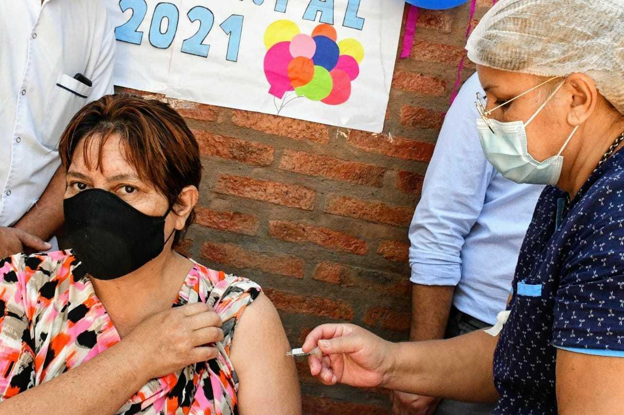 Chaco comienza a vacunar contra la gripe paralelamente a la inoculación contra la COVID-19