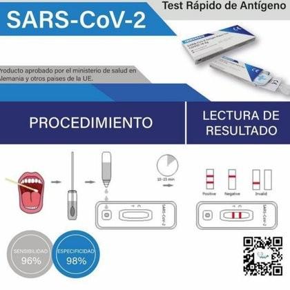 La Anmat aprobó un test rápido de coronavirus que ya se vende en farmacias