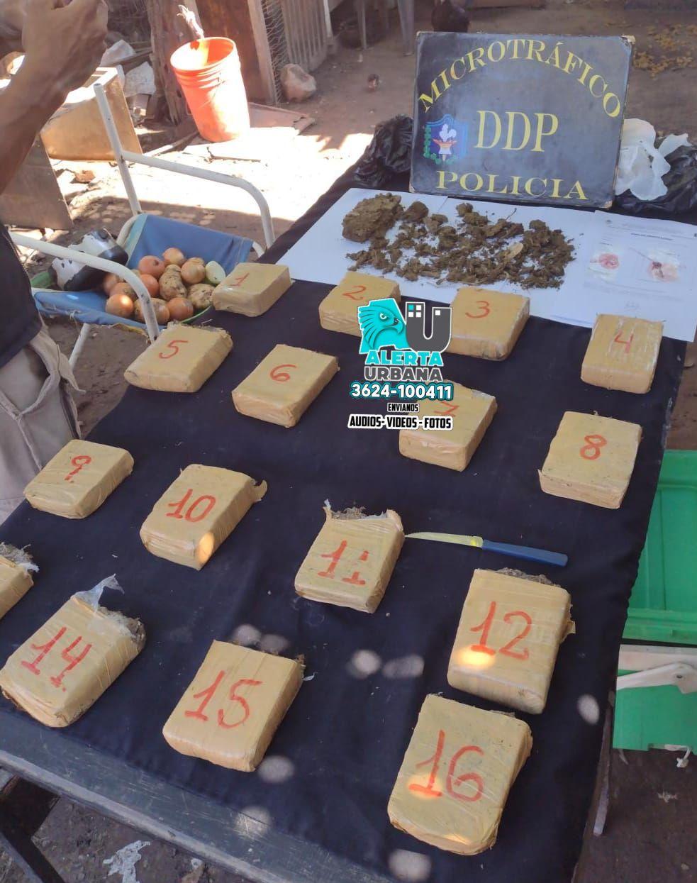 Chaco: policías antinarcóticos realizan un excelente procedimiento
