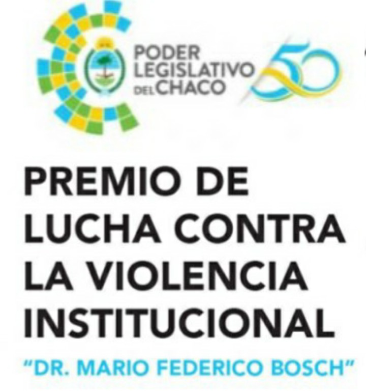 "Premio contra la Violencia Institucional ""Mario Federico Bosch"""