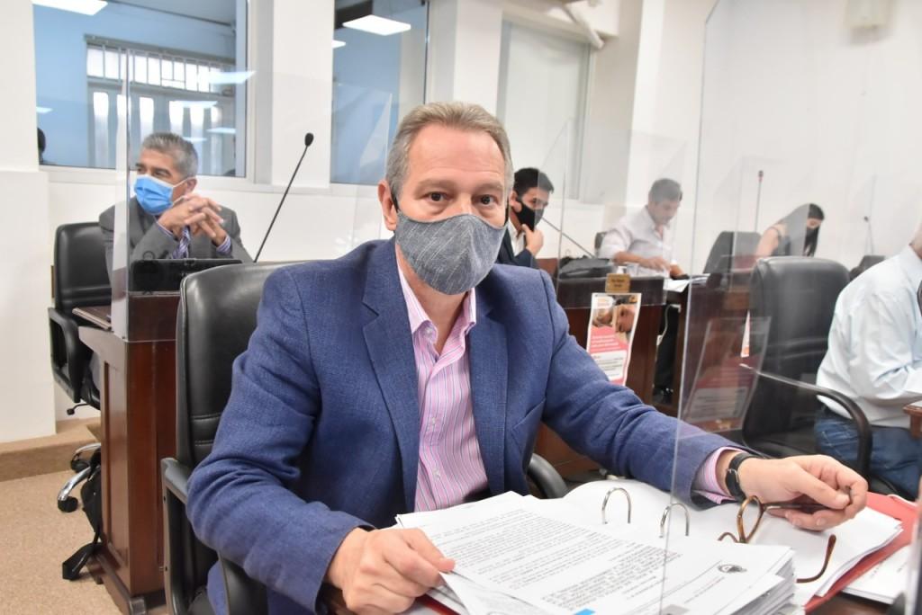 """Bergia """"legislamos de acuerdo las necesidades que demanda la pandemia y la sociedad"""""""