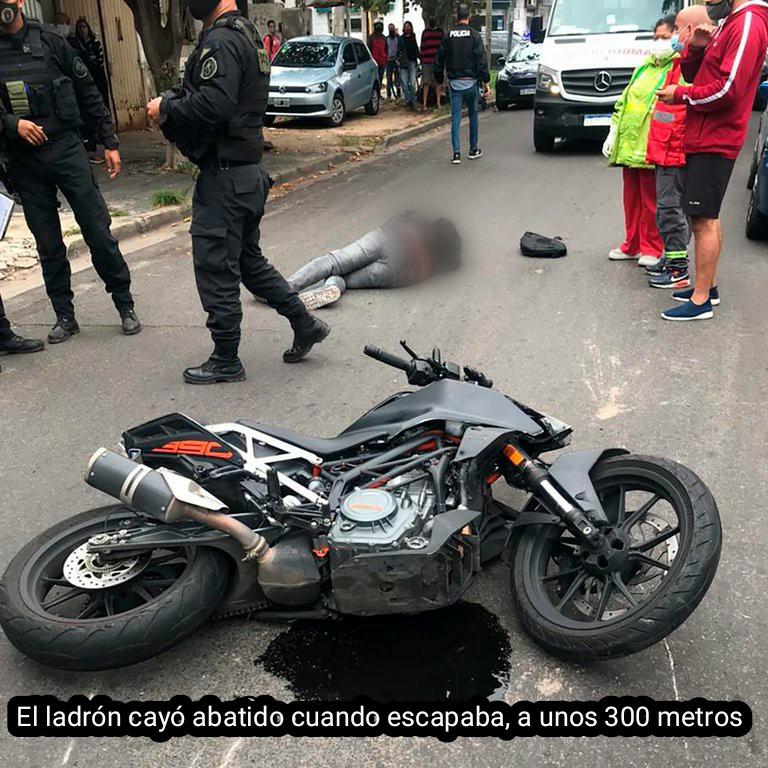 Buenos Aires: Un policía retirado mató a un delincuente