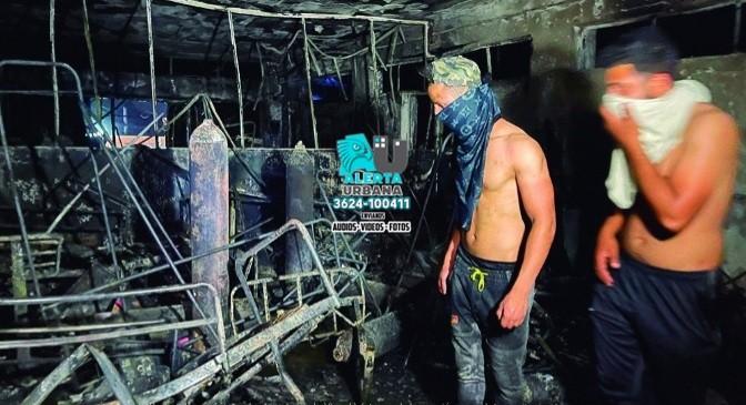 Irak: explosión y voraz incendio en hospital con pacientes COVID-19