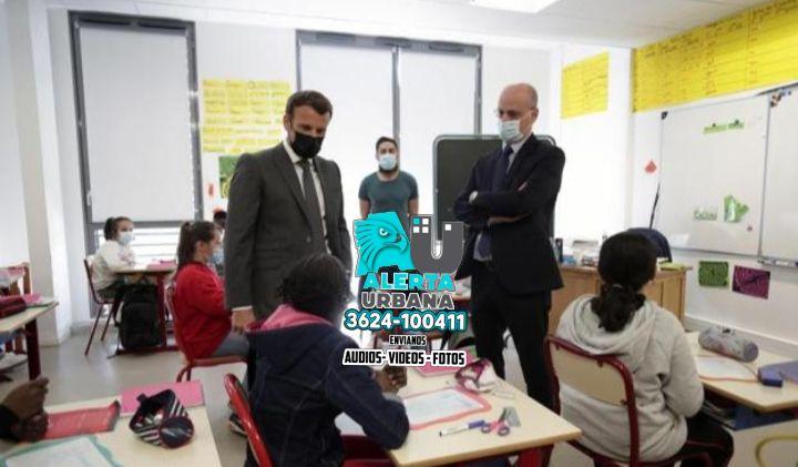 Francia: el presidente defendió su decisión de reabrir los colegios