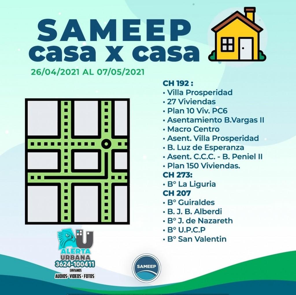SAMEEP Casa por Casa