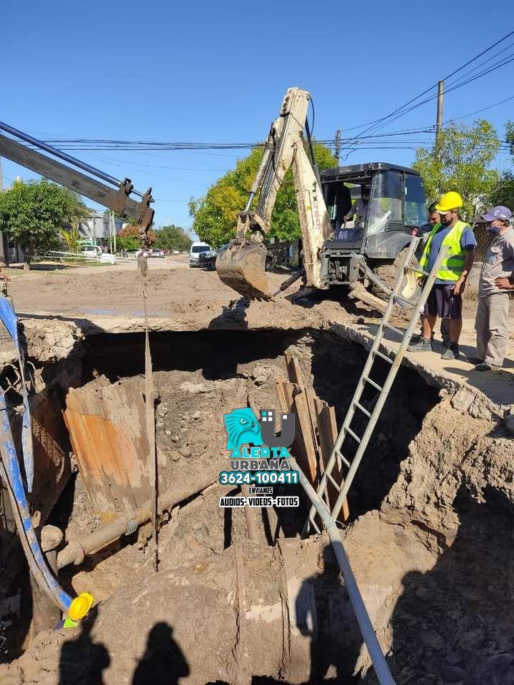 SAMEEP finalizó una reparación en zona Sur