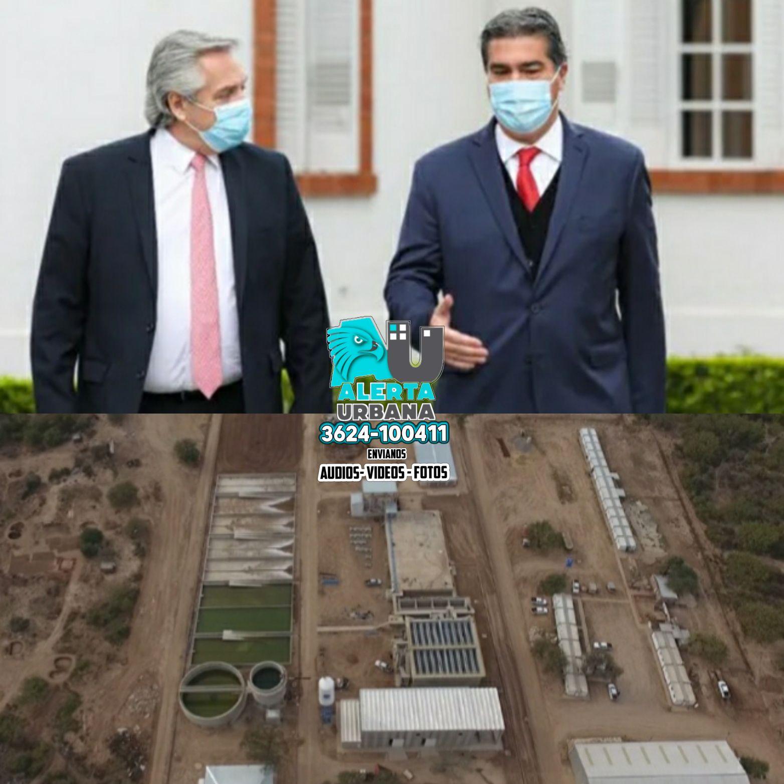El Presidente Alberto Fernández  inaugura hoy el acueducto de El Impenetrable