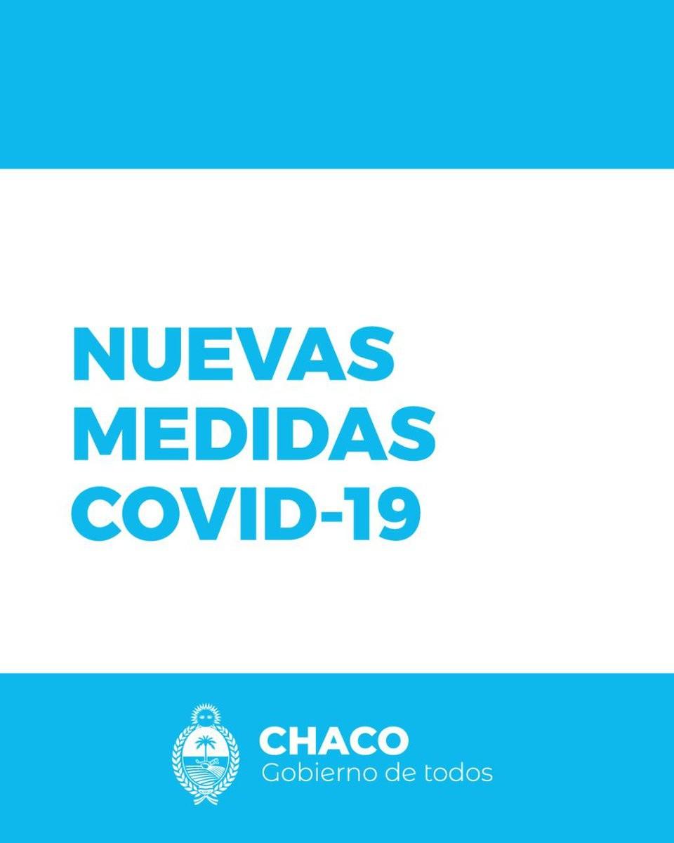 Chaco extiende por tres semanas las medidas sanitarias por Covid-19