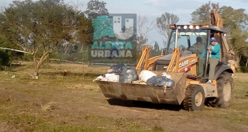 Quemaron 30 toneladas de estupefacientes entre marihuana y cocaína en Corrientes.