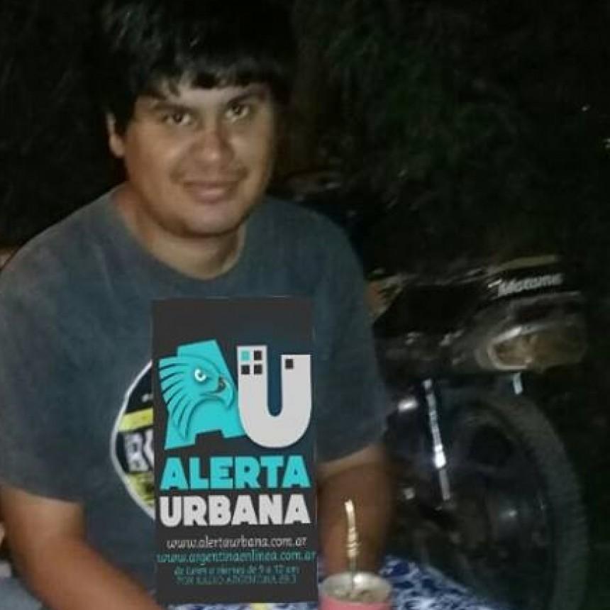 Joven desaparecido de su hogar en Villa Palermo II