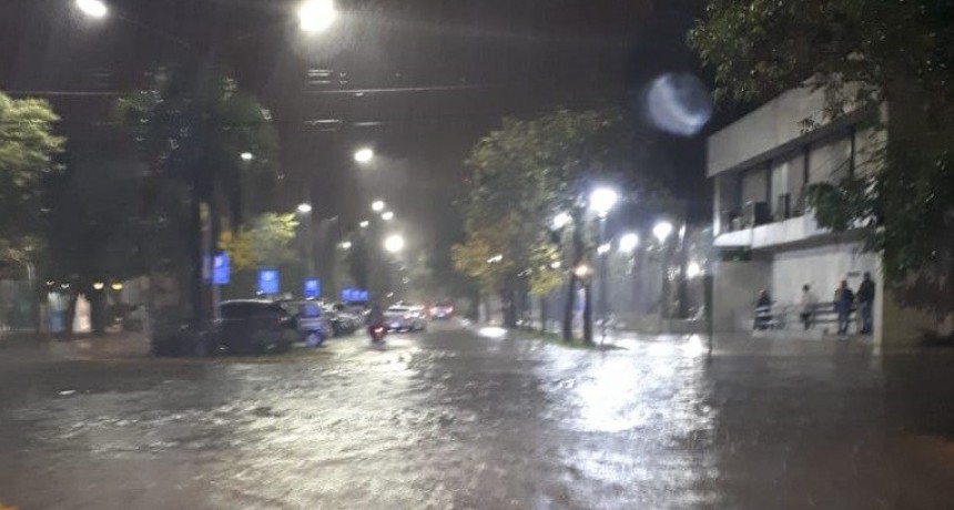 Resistencia con 52 mm de lluvia hasta las 21 hs.
