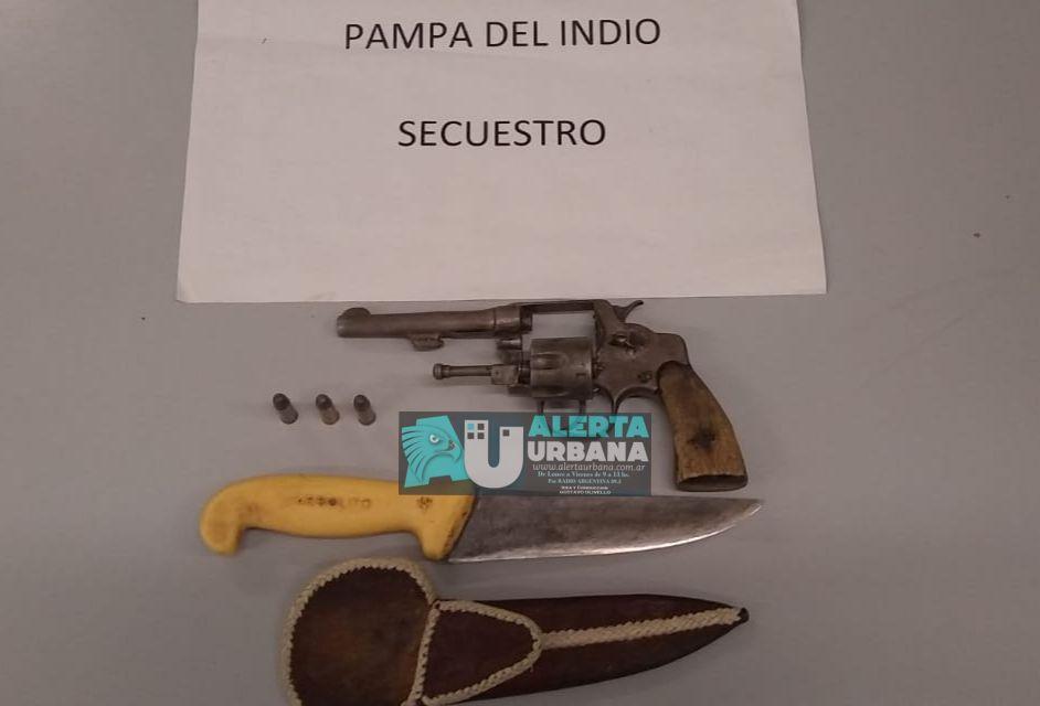 Control y secuestro de armas