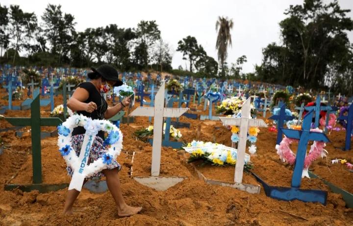 Brasil ya es el sexto país con más muertes por el coronavirus