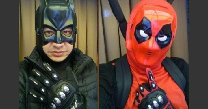 Furor por profesor que se disfraza de superhéroe para dar clases