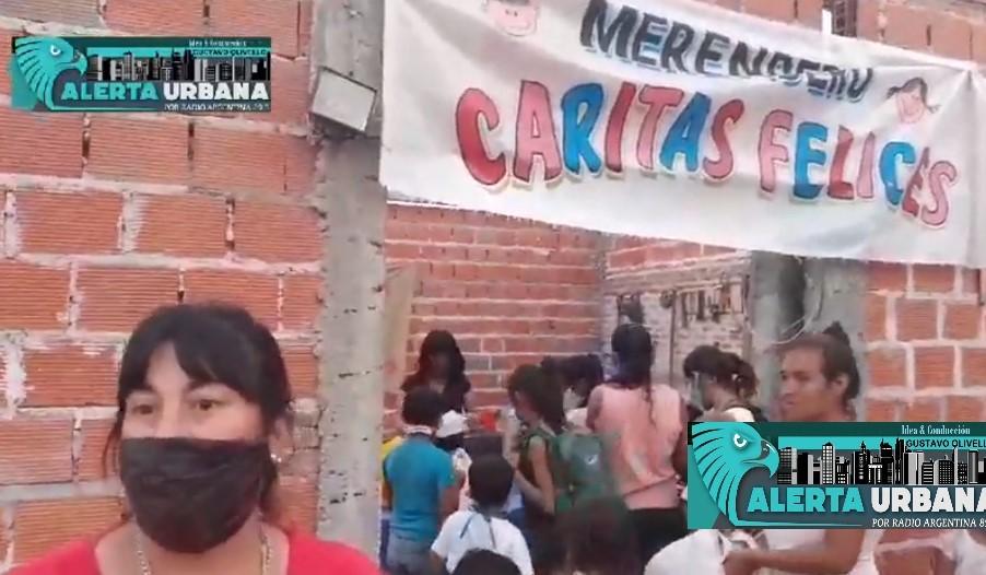 """El merendero y comedor """"Caritas Felices"""" del B° Zampa pide colaboración a la comunidad"""