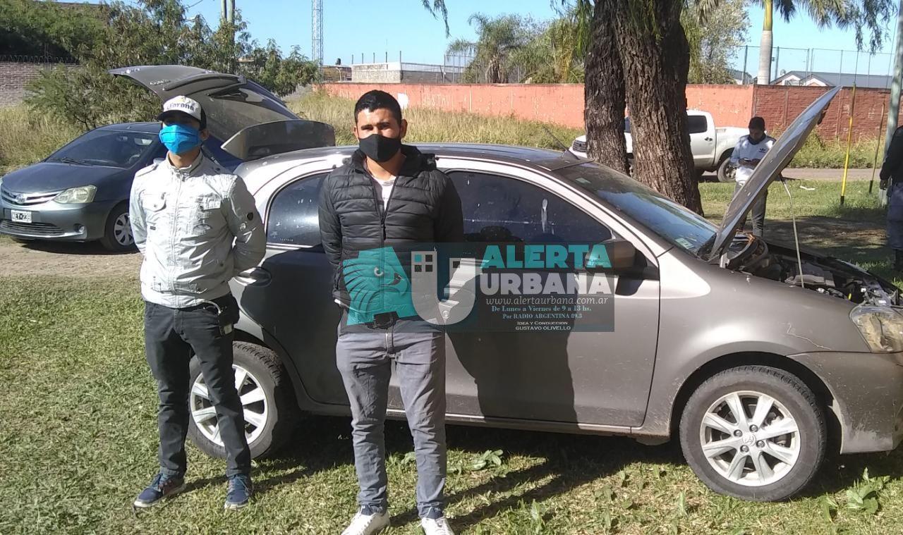 Encontraron el auto robado estacionado en el barrio España.
