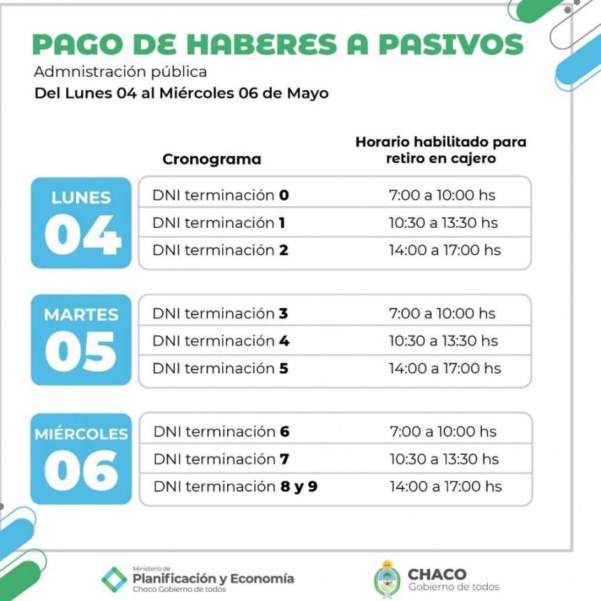 Comenzó el cronograma de pago escalonado para la Administración Pública Provincial