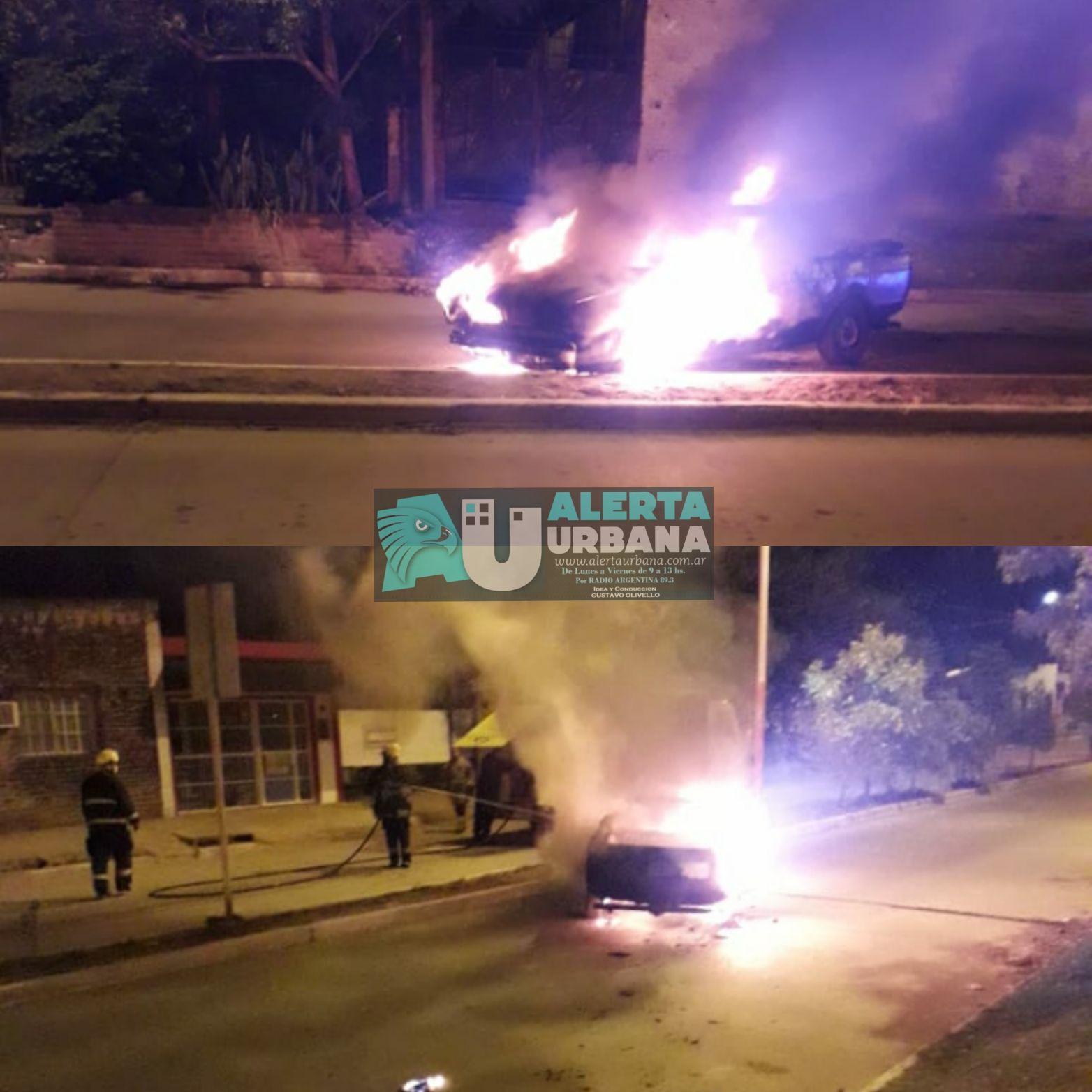 Se incendió un automóvil