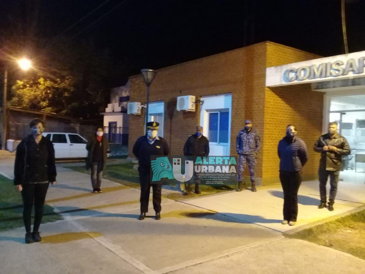 Acompañamiento a la familia del Suboficial Mayor de Policía Miguel Ángel Ledesma.