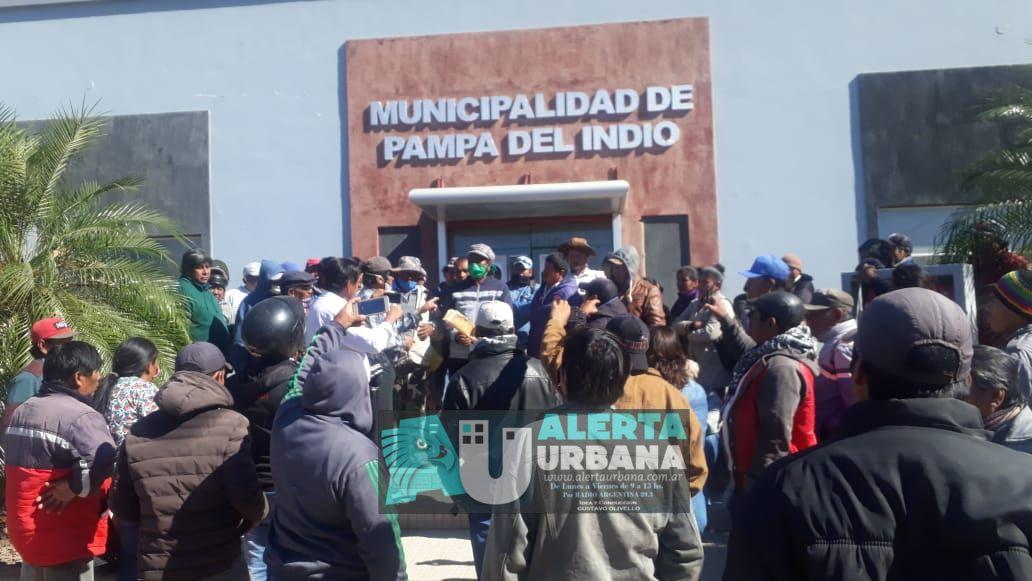 Pampa del Indio pide ayuda