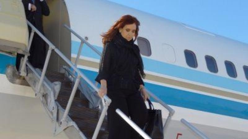 Avión presidencial: 3 vuelos a El Calafate en una semana para llevar a Cristina.