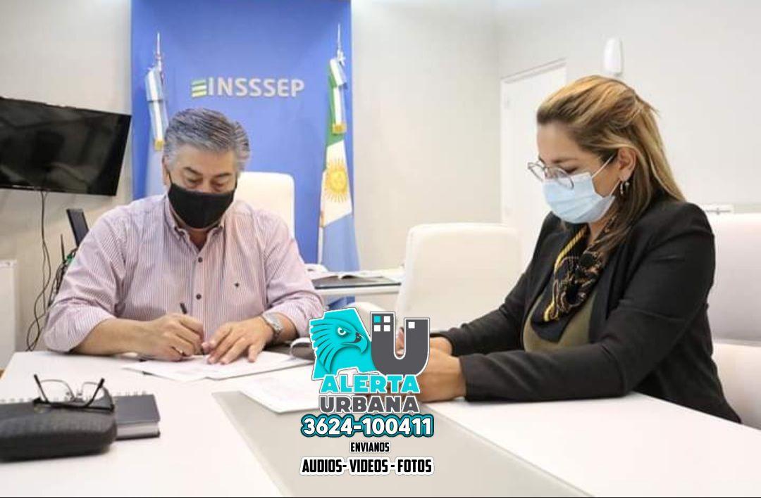 Magda Ayala firmó importante acuerdo con Insssep