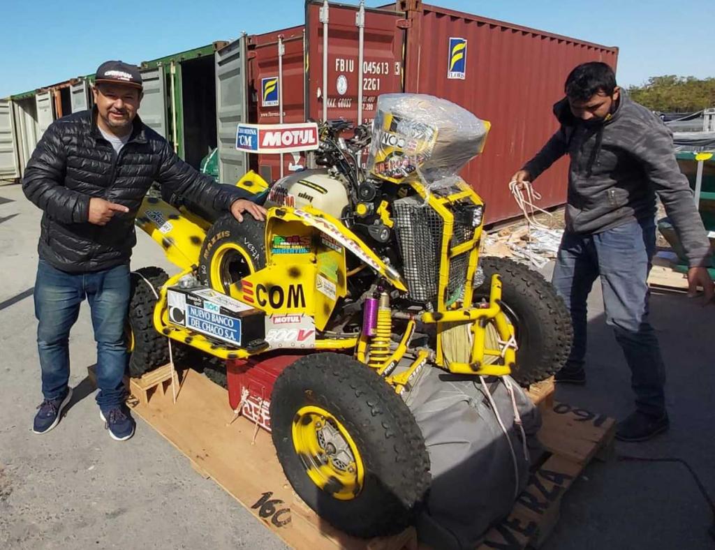 """El """"Yaguareté"""" Verza recuperó su cuatriciclo y se prepara para el Dakar 2022"""