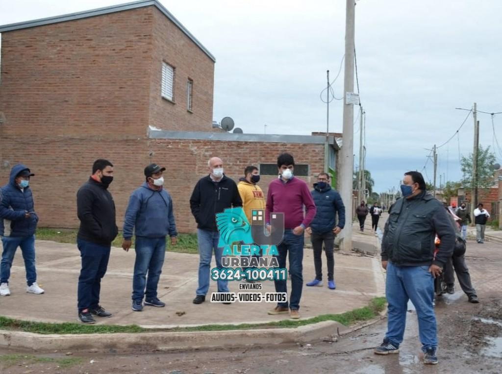 Sameep verificó los trabajos de saneamiento realizados en el barrio Toba