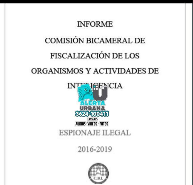 Diputados acompañan el dictamen de la Comisión Bicameral de Fiscalización de los Organismos de Inteligencia